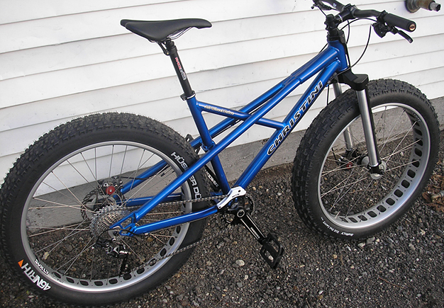 Christini 29er Fat Snow Bike